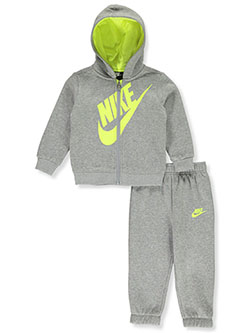 Baby Boys' 2-Piece Sweatsuit Outfit by Nike in Gray