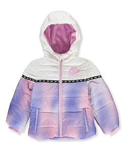 Baby Girls' Insulated Hooded Jacket by Nike in Multi - $29.99