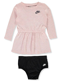 Baby Girls' Dress with Diaper Cover by Nike in Multi