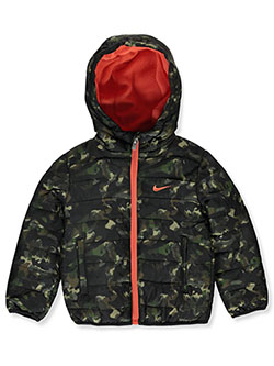Baby Boys' Insulated Hooded Jacket by Nike in Multi, Infants