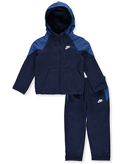 Baby Boys' 2-Piece Sweatsuit Outfit by Nike in Navy - Active Sets