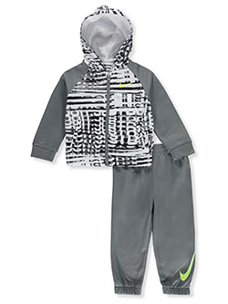 Baby Boys' 2-Piece Tracksuit Outfit by Nike in Multi - Active Sets