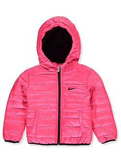 Baby Girls' Insulated Hooded Jacket by Nike in Hyper pink - $29.99