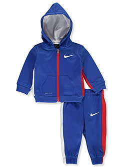Baby Boys' 2-Piece Dri-FIt Tracksuit Outfit by Nike in Game royal