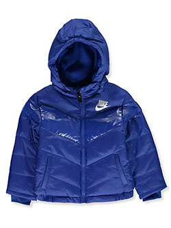 Baby Boys' Insulated Hooded Jacket by Nike in Game royal, Infants