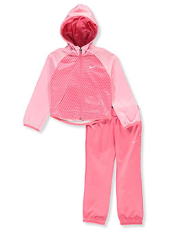 Girls' 2-Piece Sweatsuit Outfit by Nike in Multi