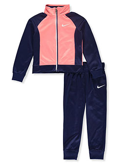 Girls' 2-Piece Tracksuit Outfit by Nike in Blue void