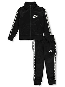 Girls' 2-Piece Tracksuit Outfit by Nike in Black