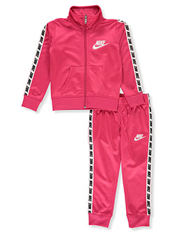 Girls' 2-Piece Tracksuit Outfit by Nike in Multi