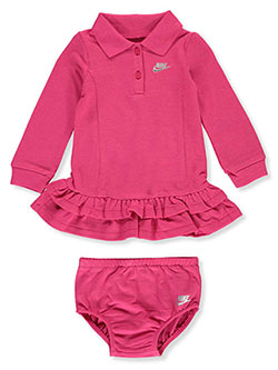 Baby Girls' Tennis Dress with Diaper Cover by Nike in Multi