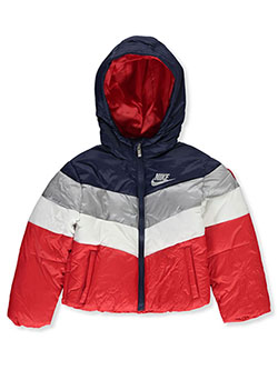 Baby Boys' Insulated Hooded Jacket by Nike in Multi
