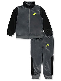 Baby Boys' 2-Piece Tracksuit Outfit by Nike in Banff blue