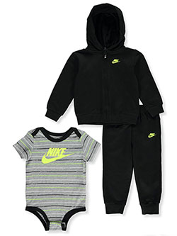 Baby Boys' 3-Piece Joggers Set Outfit by Nike in Black