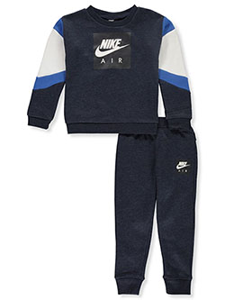 Boys' 2-Piece Joggers Set Outfit by Nike in Obsidian heather