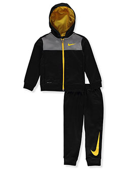 Boys' Dri-Fit 2-Piece Tracksuit Outfit by Nike in Black