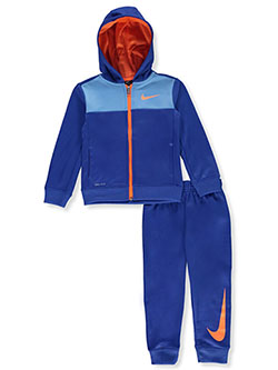 Boys' Dri-Fit 2-Piece Tracksuit Outfit by Nike in Game royal