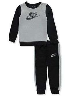 Boys' 2-Piece Joggers Set Outfit by Nike in Blue void