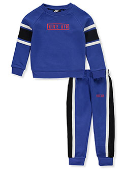 Boys' 2-Piece Joggers Set Outfit by Nike in Game royal, Boys Fashion
