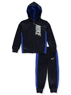 Boys' 2-Piece Sweatsuit Outfit by Nike in Multi, Boys Fashion