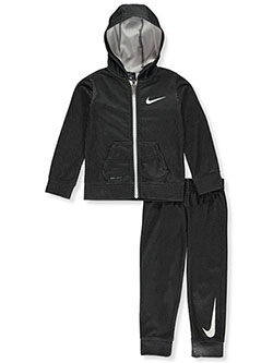 Boys' Dri-Fit 2-Piece Tracksuit Outfit by Nike in Multi, Boys Fashion