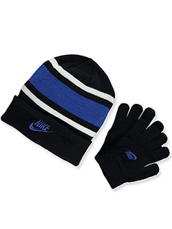 Boys' Beanie & Gloves Set by Nike in Multi - $32.00