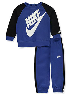Baby Boys' 2-Piece Sweatsuit Outfit by Nike in Game royal