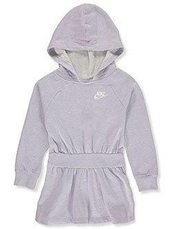 Girls' Hoodie Dress by Nike in Purple, Sizes 4-6X