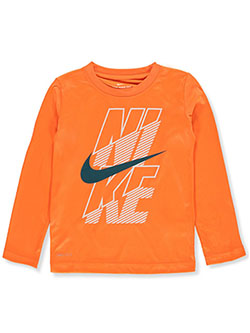 Boys' L/S T-Shirt by Nike in Multi, Sizes 2T-4T