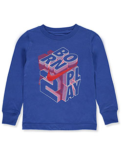Boys' L/S T-Shirt by Nike in Game royal, Boys Fashion