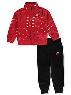 Baby Boys' 2-Piece Tracksuit Outfit by Nike in University red