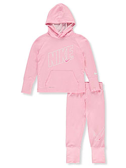 Tenacity Dri-Fit 2-Piece Sweatsuit Outfit by Nike in Pink