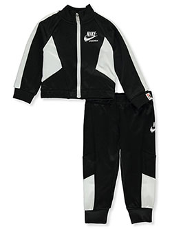 Baby Girls' 2-Piece Track Suit Set Outfit by Nike in Black - Active Sets