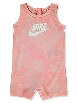 Baby Girls' Romper by Nike in Blush - Rompers