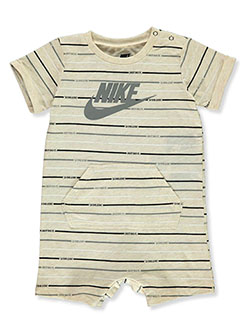 Baby Boys' Romper by Nike in Brown - Rompers
