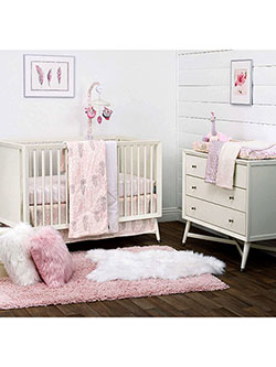 Peacock 3-Piece Crib Set by DwellStudio in Multi
