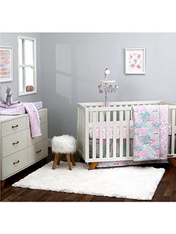 Fawn 3-Piece Crib Set by DwellStudio in Multi
