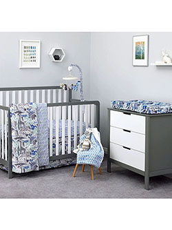 Safari 3-Piece Crib Set by DwellStudio in Multi