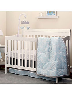 Dreamer 8-Piece Crib Set by Nojo in Multi