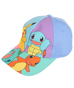 "Pokemon ""Character Cut"" Baseball Cap (Big Girls' One Size) - CookiesKids.com"