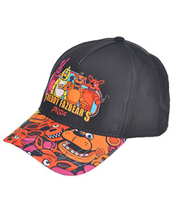 "Five Nights at Freddy's ""Pizza Time"" Baseball Cap (Big Boys' One Size) - CookiesKids.com"