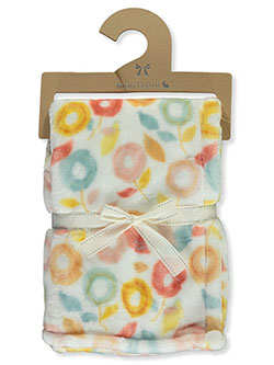 Mon Lapin Velvet Spring Baby Blanket by NORTHPOINT KIDS in White/multi