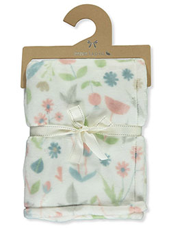 Mon Lapin Velvet Fall Baby Blanket by NORTHPOINT KIDS in White/multi