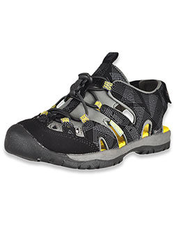 Boys' Burke Sport Sandals by Northside in Black/yellow, Shoes