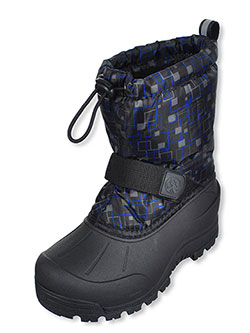 Boys' Winter Boots by Northside in Black/blue