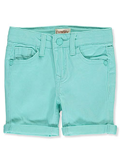 Baby Girls' Denim Bermuda Shorts in Jade - $5.99
