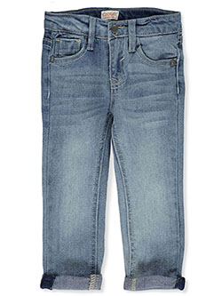 Baby Boys' Cuffed Jeans in artist blue, blue and phantom