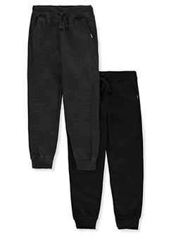 Boys' 2-Pack Joggers in Black