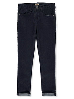 Girls' Cuffed Jeans in andrea wash, black, hunter wash and moto wash - Jeans