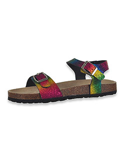 Girls' Rainbow Sparkle Sandals by Olivia Miller in Rainbow, Shoes