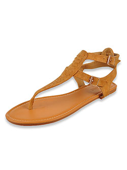 Women's Gladiator Sandals by Olivia Miller in Cognac